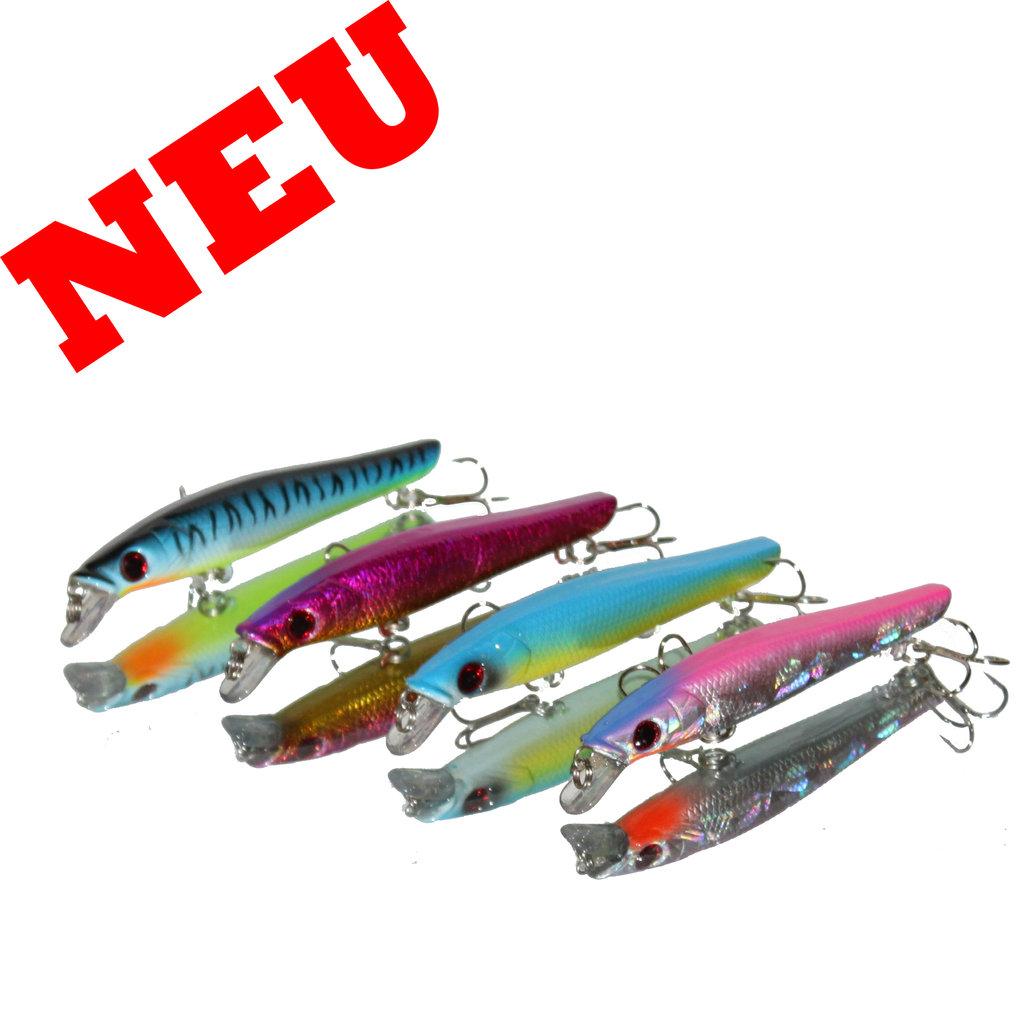 4-er set hunter river - minow trout s
